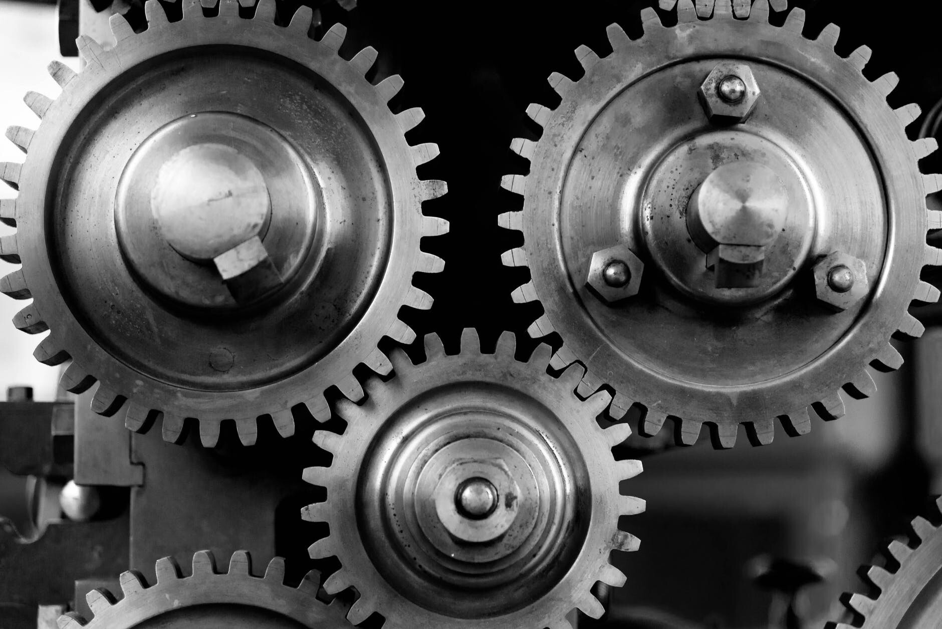 Gears Interconnected