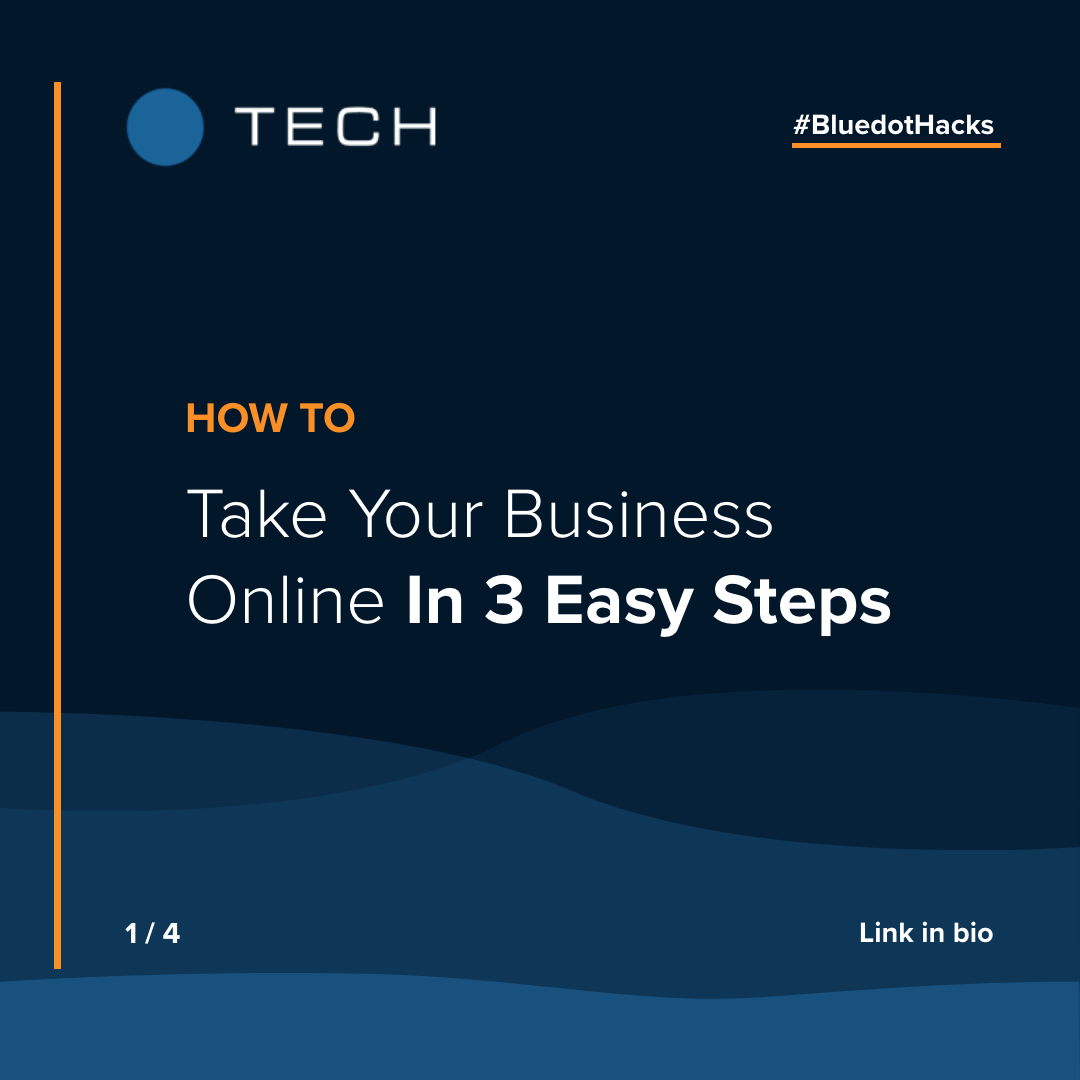 Take Your Business Online In 3 Easy Steps